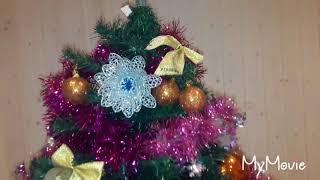 Наш вечер#едим роллы#первые подарки на новый год