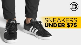 BEST BLACK SNEAKERS UNDER $75 | Affordable Men's Fashion
