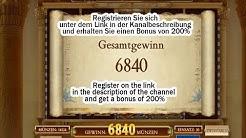 Book of Dead Gesamtgewinn €6840! Grosser Gewinn!