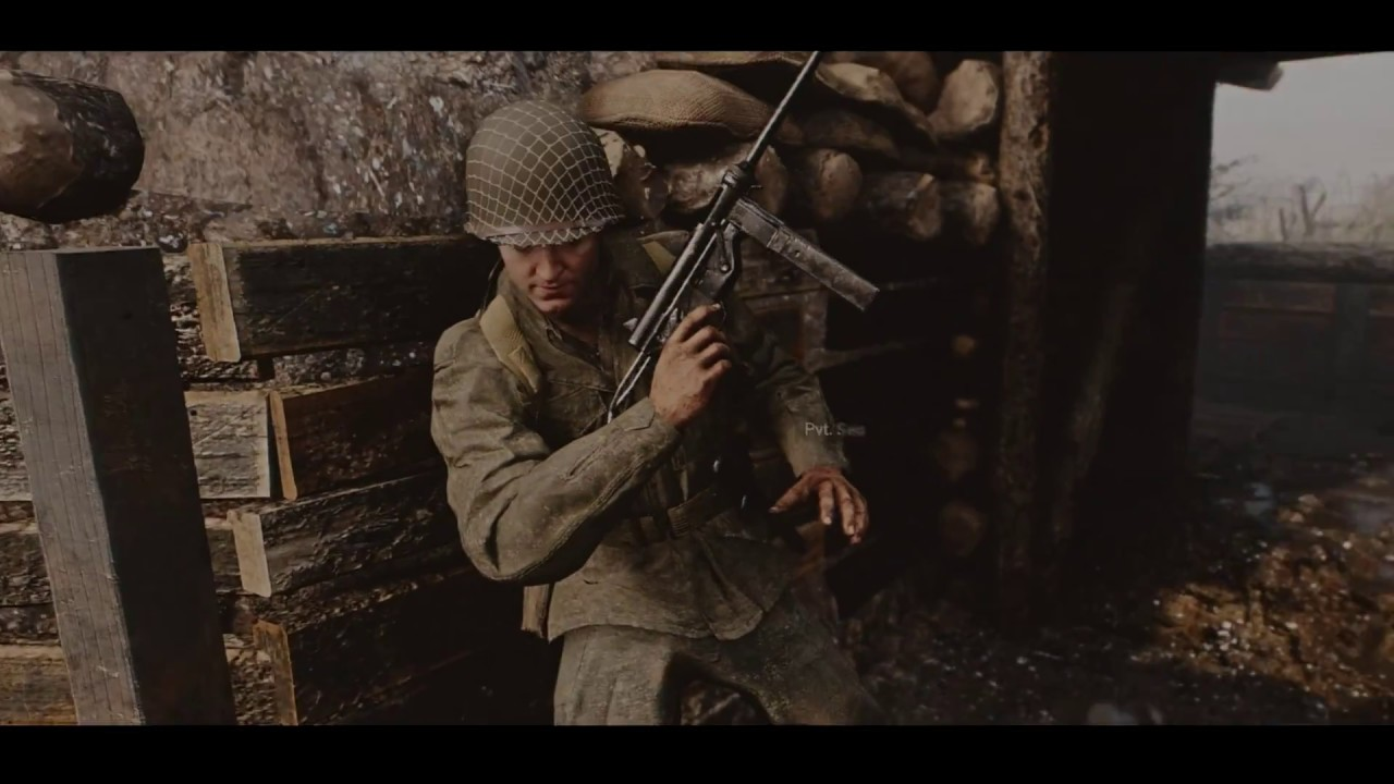 Call of duty ww2 cinematic reshade look in 4k youtube - Is cod ww2 4k ...