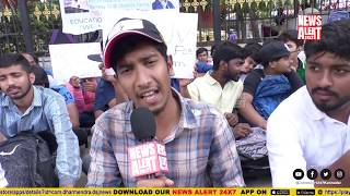 VTU Students strike for Their Rights