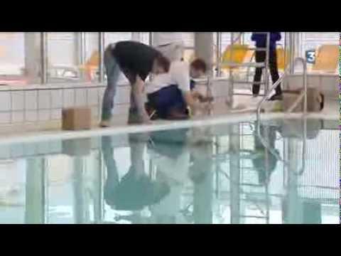 Louviers (27) : avant l'ouverture du nouveau complexe aquatique
