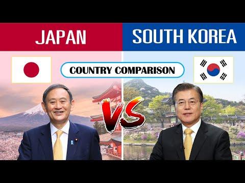 Japan vs South Korea - Country Comparison