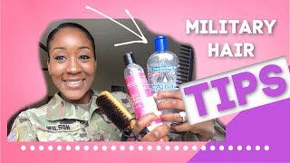 Tips for Styling Hair in Basic Training 2019 (Why I WONT go NATURAL in the Military)