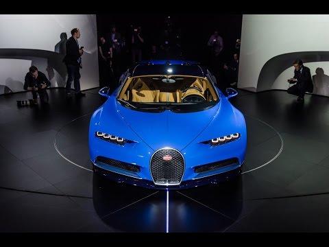 EXCLUSIVE: Bugatti Chiron Unveil - All Info & Details