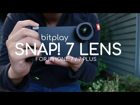 bitplay Snap! 7 Case HD Wide Angle Lens for Iphone 7 Plus REVIEW