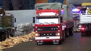 RC Truck DAF 3600 ATI Space Cab Commercial vehicles with a special Trailer