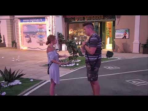 Zadruga - Kija i Sloba se svađaju u dvorištu - 31.05.2018.