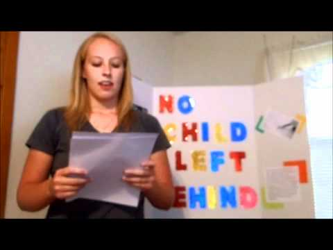 No Child Left Behind Persuasive Speech