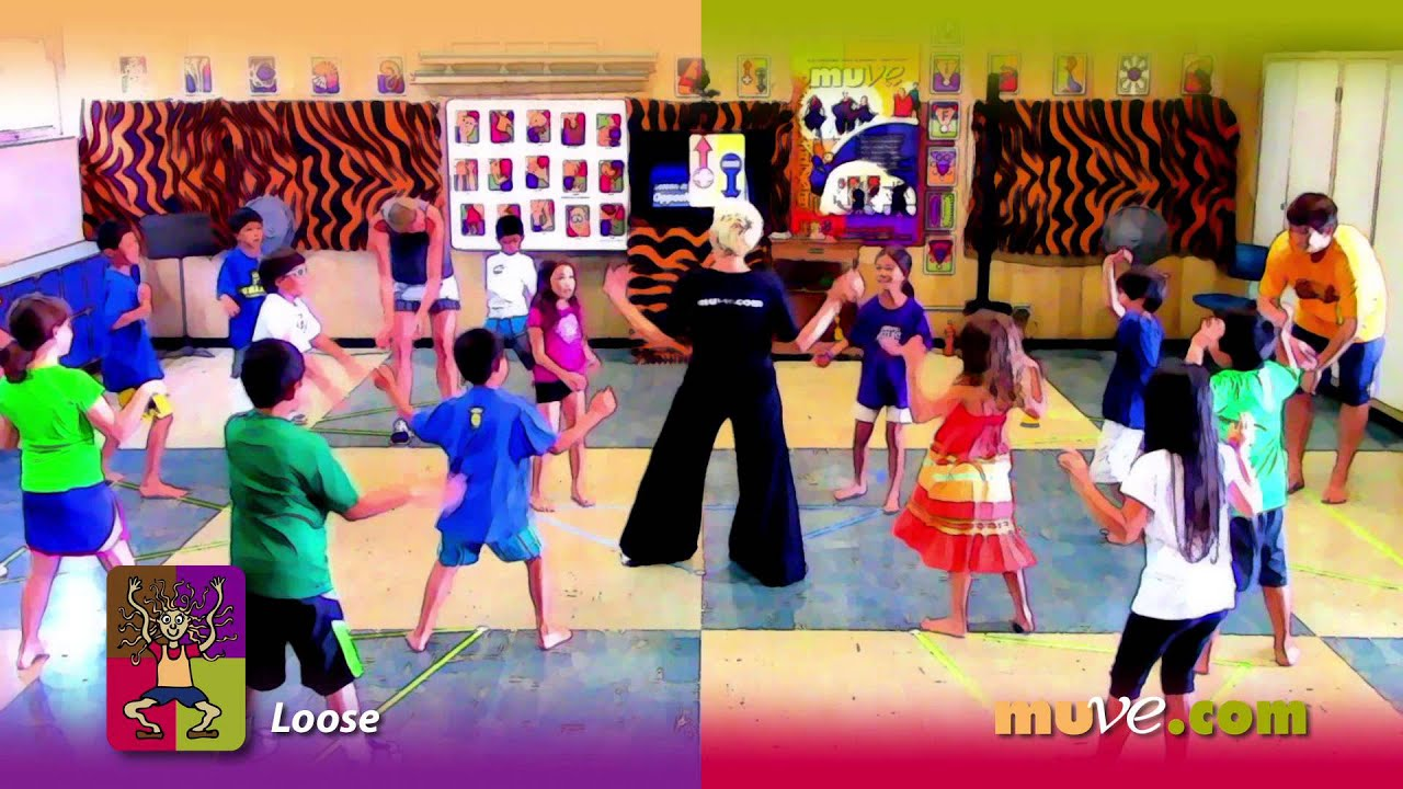 School physical activity dance lesson - Students learn about ...