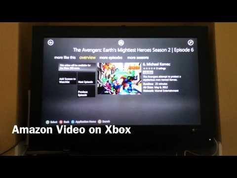 Amazon Video on Xbox 360