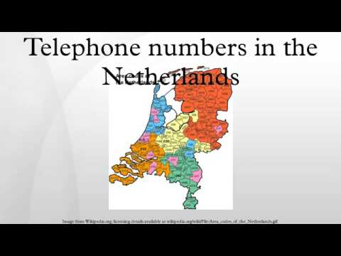 Telephone numbers in the Netherlands