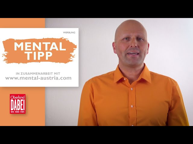 Oberland DABEI Mental-Tipp - 21.04.2021