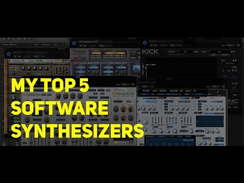 My Top 5 Software Synths (June 2014)