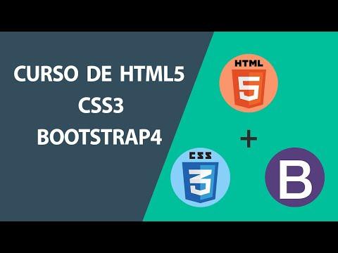 9 Aula Gratuitas Do Curso De HTML5, CSS3 E Bootstrap4
