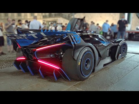 Bugatti Bolide Gets Priceless Reactions From Spectators During Public Appearance