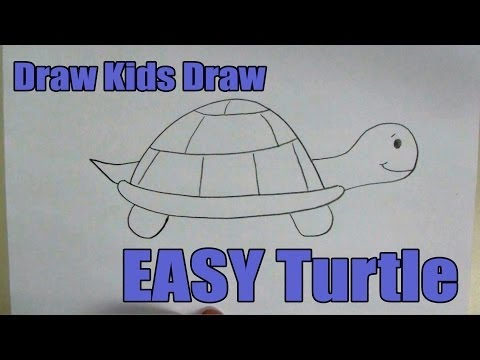 how-to-draw:-easy-turtle