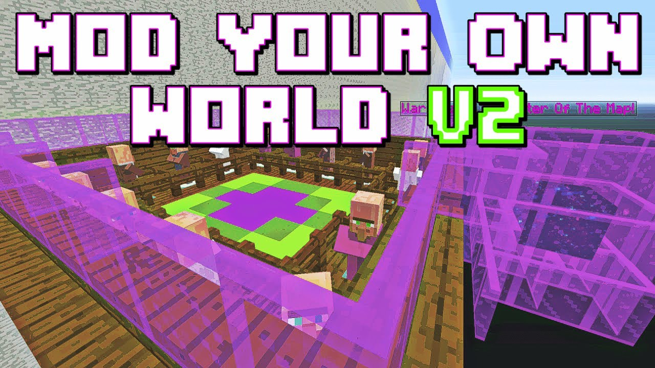 Minecraft: Mod Your Own World V2 Console Map W/Download