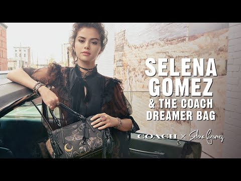 309f82e73d Selena Gomez with the Coach Dreamer bag - YouTube