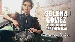 Tattooed leather, coach signature, rivets and whipstitch: must be the #coachxselena dreamer bag. shop bags latest arrivals—bags, wallet...