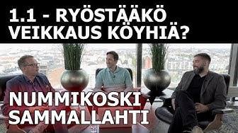 #twittertänään 1.1 - Ryöstääkö Veikkaus köyhiä? (Tere Sammallahti & Velipekka Nummikoski)