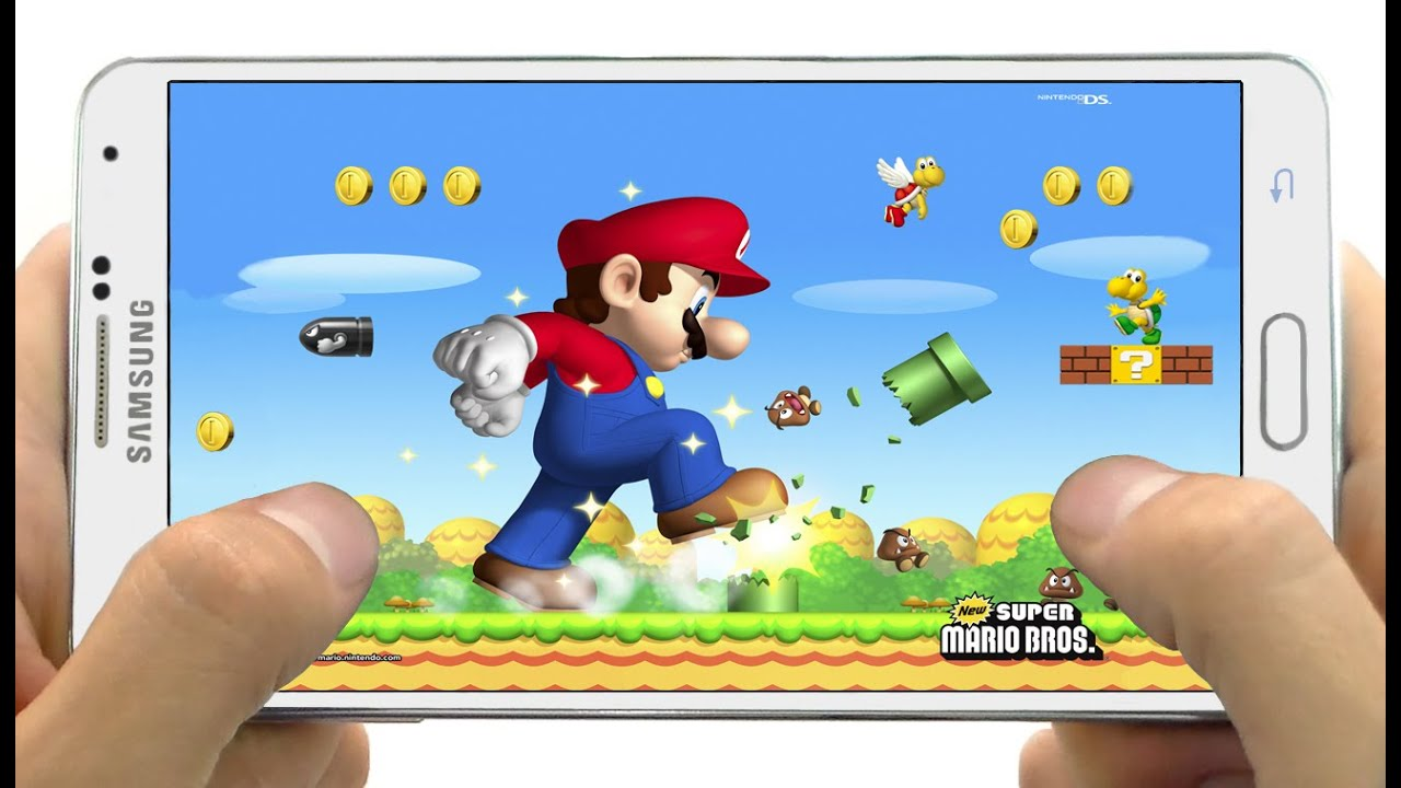 Super Mario Bros USA For Android Android Game APK ...