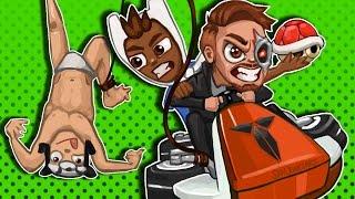 Mario Kart 8 Deluxe Teams - Carried By Terroriser, BigAngryPanda!