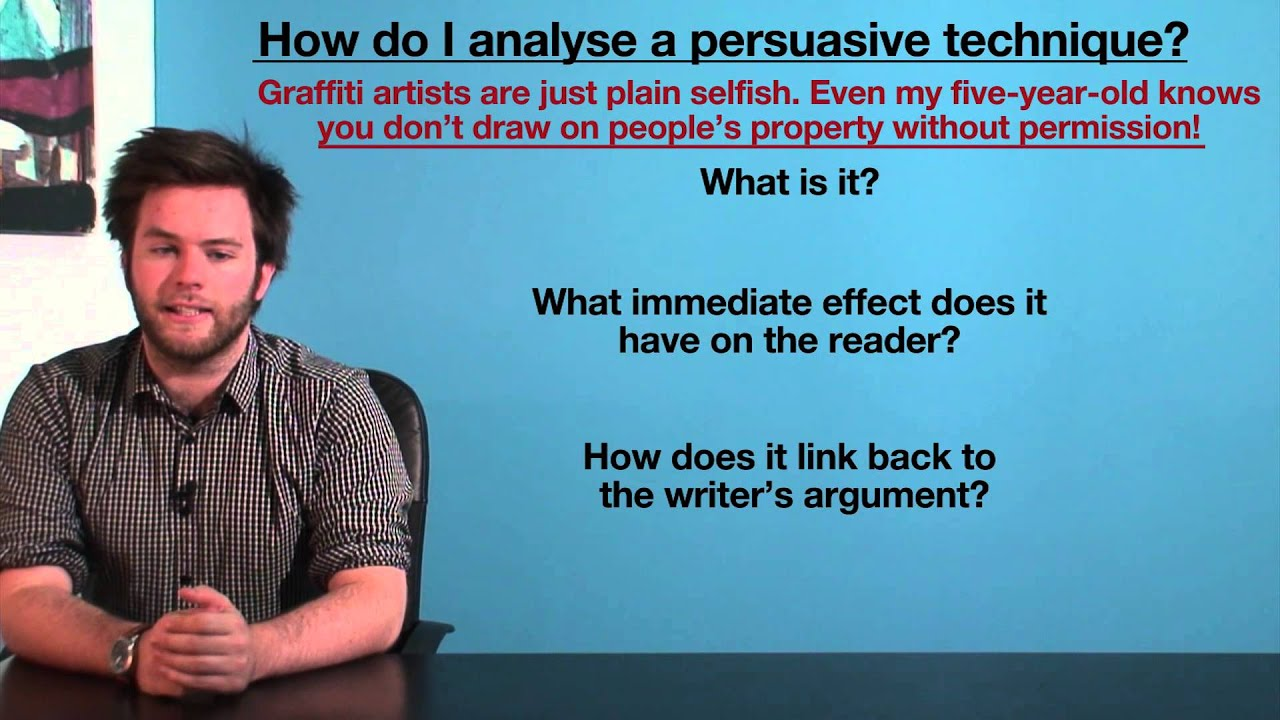 vce english how to analyse persuasive techniques language  vce english how to analyse persuasive techniques language analysis