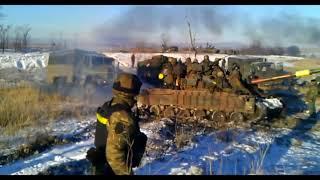 Выход ВСУ из Дебальцево 18 февраля 2015 года.