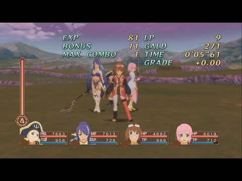 Tales of Vesperia Definitive Edition - Group Victory Quotes Compilation (English)