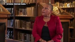Christiane Taubira, entretien avec Léa Salamé