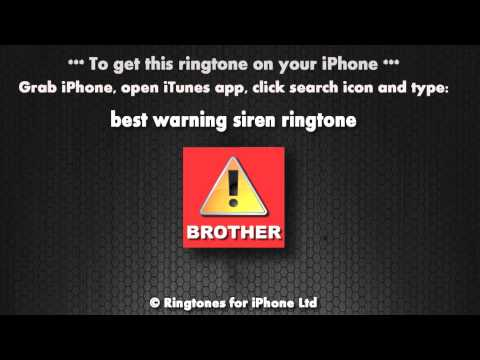 Warning it's the brother (iPhone Ringtone)