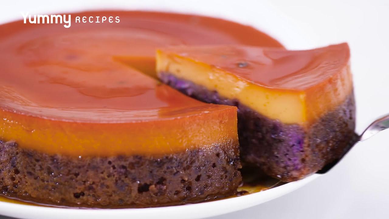Ube Flan Cake Recipe