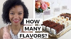 Flavors and your Cake Tastings - How many Flavors to Sample?