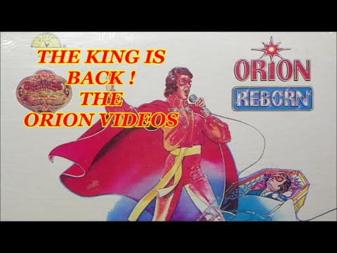 THE KING IS BACK !   -  THE ORION VIDEOS
