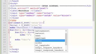 tutorial Php membuat program sederhana