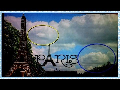 Человеческие лица в небе над Парижем и Cтранные объекты вокруг |Версаль| HelenLin1