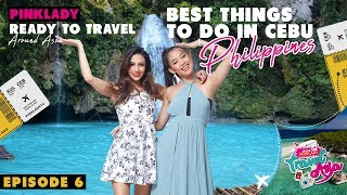 MISS PINKLADY TRAVEL IN ASIA EPS 6 (PART 2) - BEST THINGS TO DO IN CEBU, PHILIPPINES.