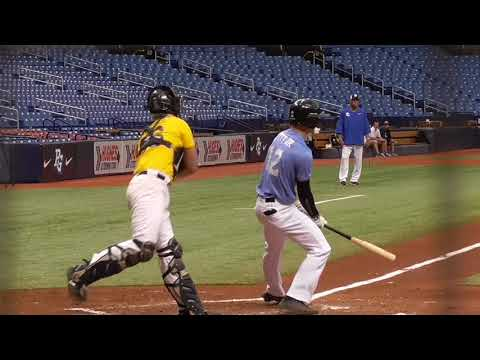 Bobby Witt Jr. (6-15-2018) at the Perfect Game National Showcase (Tampa, FL).