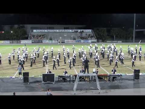 Olympia HS Titan Marching Band @ 2017 Tarpon Springs Outdoor Music Festival - part 1 of 2