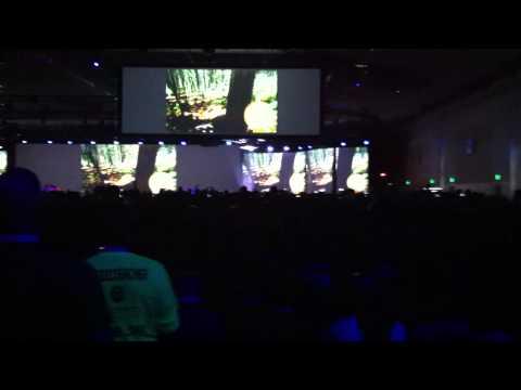 Feel the emotion con¨5.000 geeks a punto de empezar la keynote del Google I/O 2013 #aio13