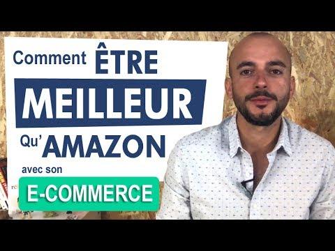 Comment être meilleur qu'Amazon ou les places de marché [e-commerce]