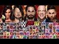WWE 2K18 Full Official Roster All 173 WWE2K18