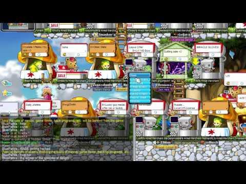 MapleStory Europe - Kaee Getting Hacked