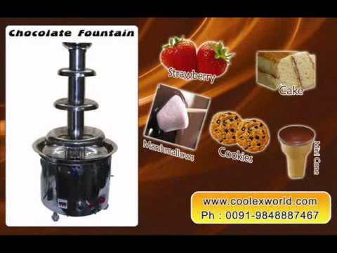 how to use a chocolate fountain youtube