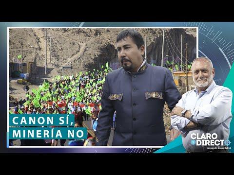 Canon sí, minería no - Claro y Directo con Augusto Álvarez Rodrich