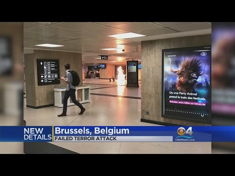 Thumbnail: Suspect Fatally Shot After Explosion At Brussels Station