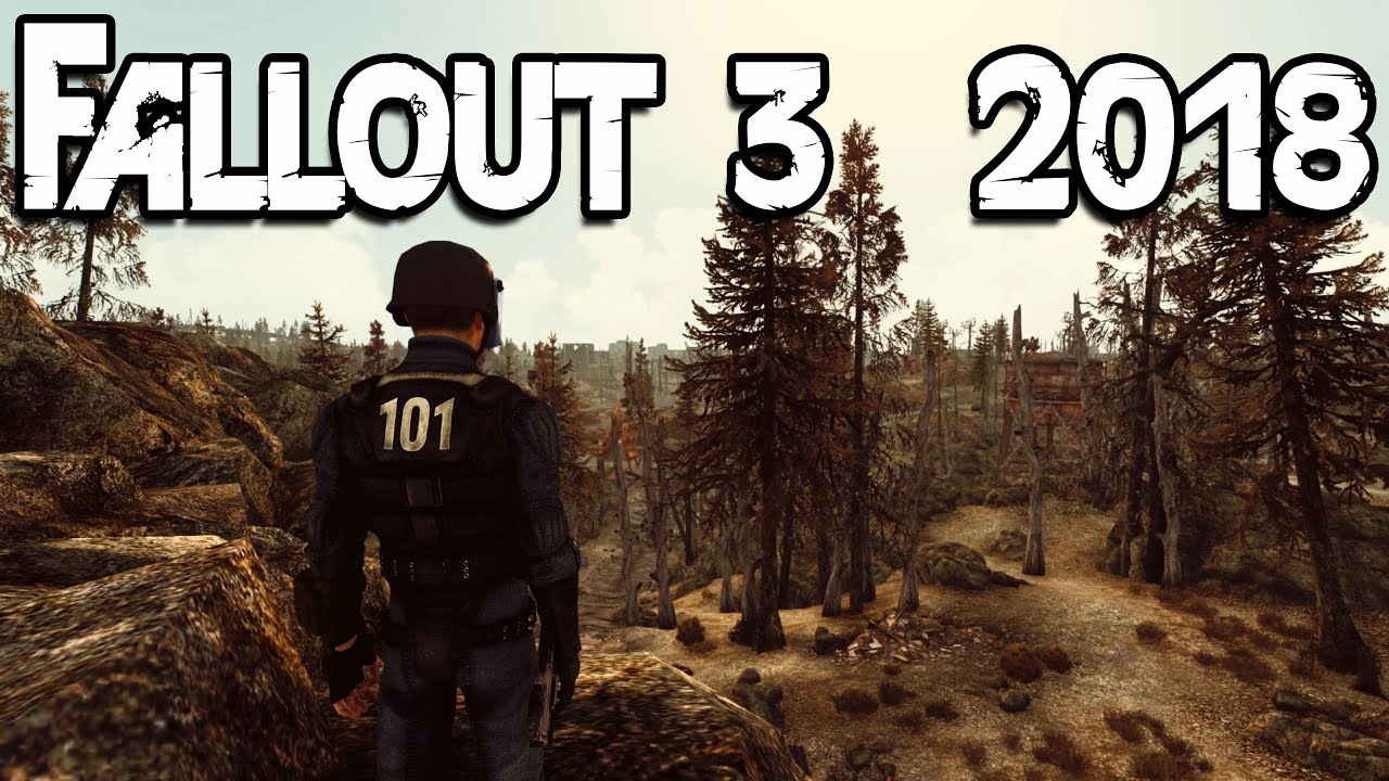 Fallout 3 Modded Gameplay First 35 Minutes Atmos Enb Youtube