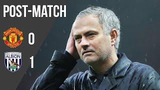 Jose Mourinho | Press Conference | Manchester United 0-1 West Brom