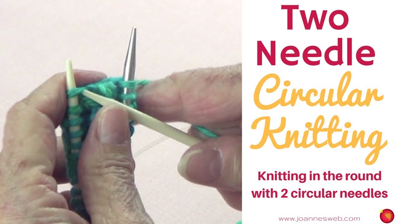 Double Knitting In The Round : Round knitting with circular needles how to knit in the